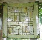 Korean Antique Textile Asa Pojagi Wrappig Cloth Light Green