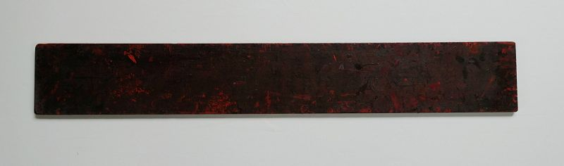 Japanese Vintage Wood Board Used by Urushi Craftsman