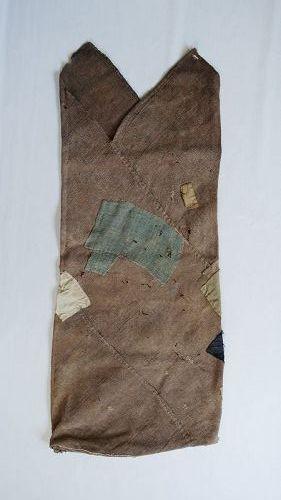Japanese Vintage Textile Boro Asa Tsuno-bukuro for Grain