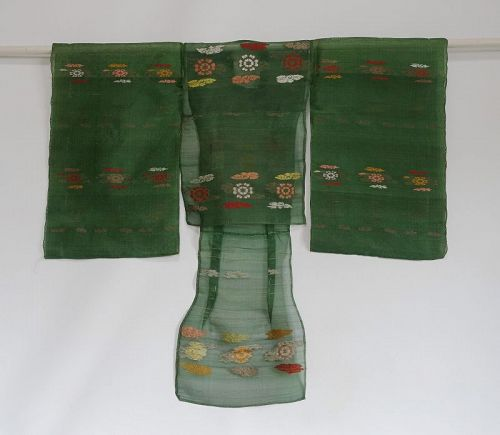 Japanese Antique Textile Silk Child's Yusoku Costume