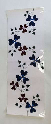Japanese Vintage Hand-painted Yukata Design Flower