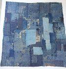 Japanese Vintage Textile Boro Shikimono Carpet