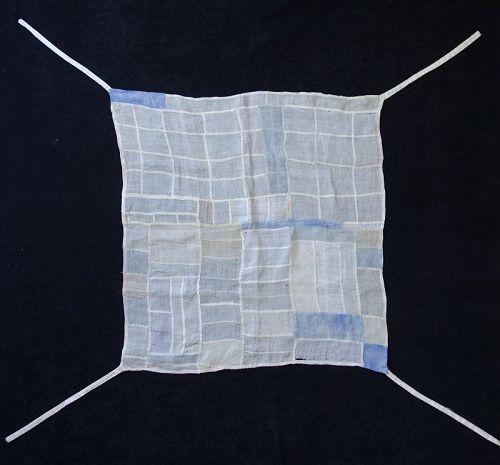 Korean Antique Textile Cho-gappo Pojagi Made of Choma Ramie