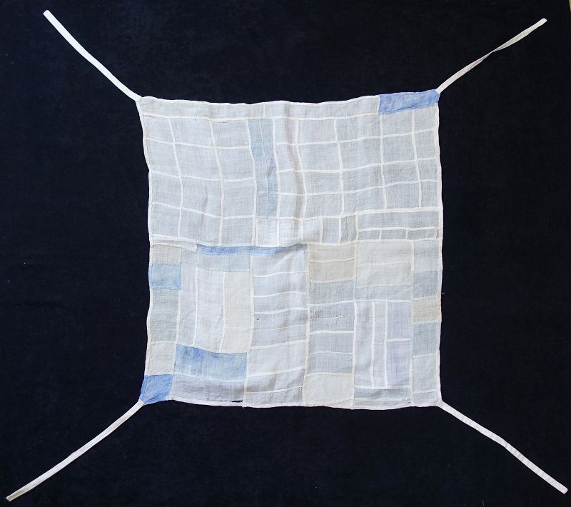 Korean Antique Textile Cho-gappo Pojagi Made of Choma Ramie