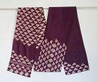 Japanese Vintage Textile Shikon-zome Obi sash Cloth