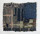 Japanese Vintage Textile Boro Zokin with Asa Stitches