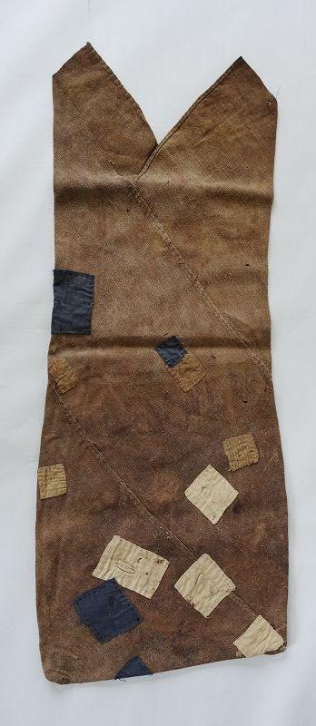 Japanese Vintage Textile Boro Asa Hemp Tsuno-bukuro
