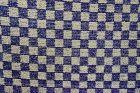 Japanese Vintage Textile Sakiori Obi Sash Checker Pattern
