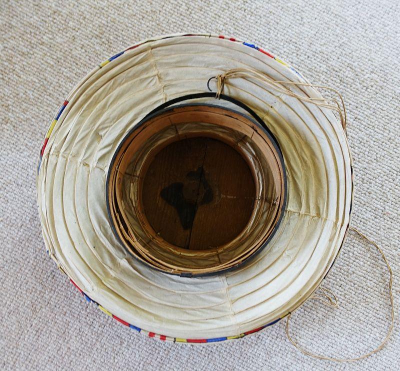 Japanese Vintage Chochin Paper Lantern of Shrine