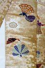 Japanese Vintage Textile Silk Fukuro Obi Sash for Formal Kimono