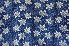 Japanese Vintage Textile Katazome Futonji Natural Indigo