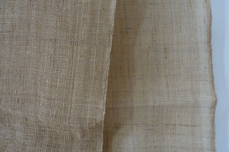 Japanese Antique Textile Asa Kaya  Hemp Cloth for Mosquito Net