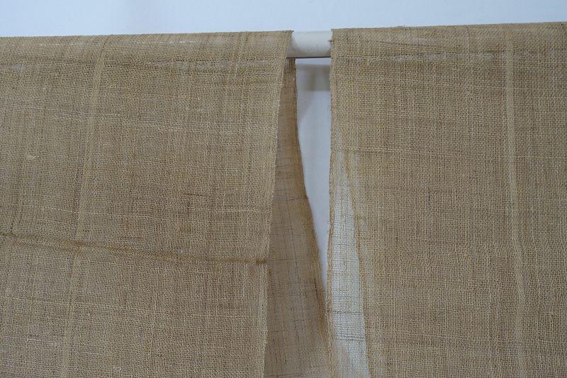 Japanese Antique Textile Asa Kaya  Hemp Cloth for Mosquito Net