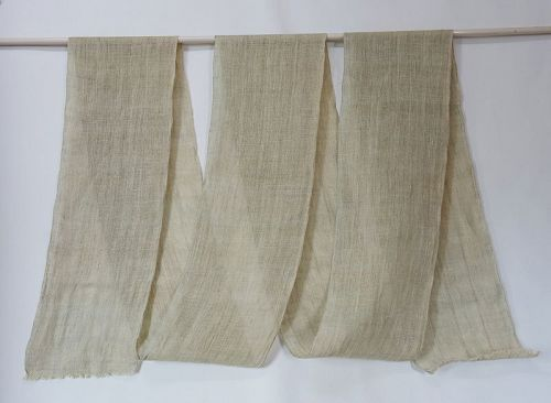 Japanese Antique Textile Asa Kaya Hemp Mosquito Net
