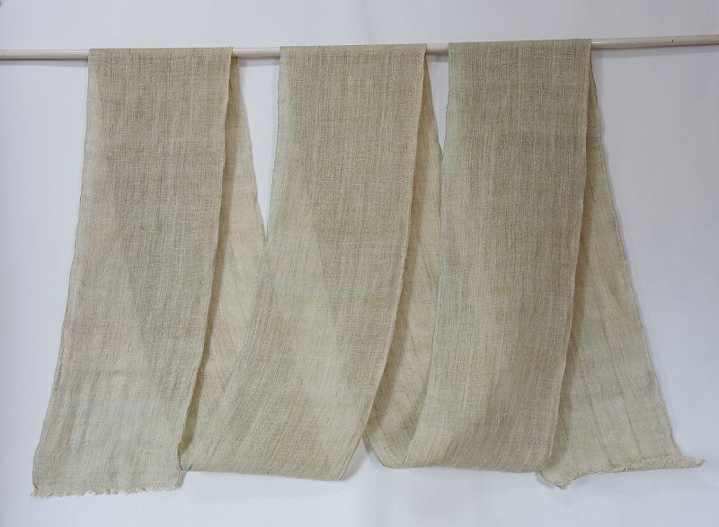 Japanese Antique Textile Asa Kaya Hemp Mosquito Net