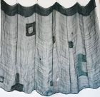 Japanese Antique Textile Boro Asa Kaya Mosquito Net 6 Panels