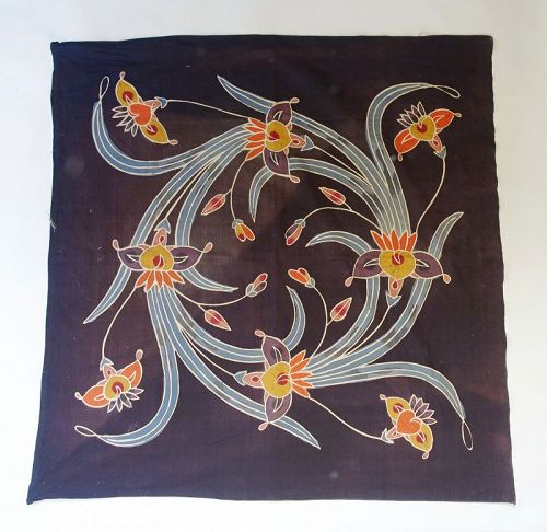 Japanese Vintage Textile Okinawan Uchikui Wrapping Cloth