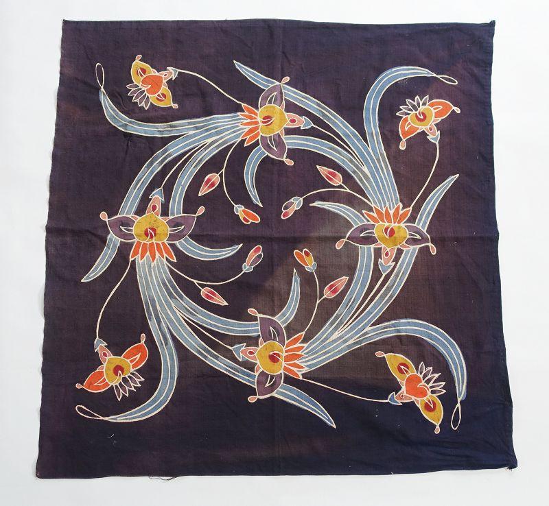 Japanese Vintage Textile Okinawan Uchikui Wrapping Cloth