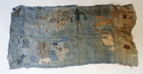 Japanese Antique Textile Boro Asa and Cotton Fragments