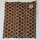 Japanese Antique Textile Furoshiki with Katazome Matsukawabishi