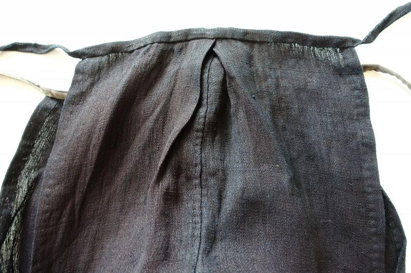 Japanese Vintage Textile Asa Hemp Momohiki Vegetable Indigo