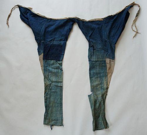 Japanese Vintage Textile Boro Indigo Momohiki Pants