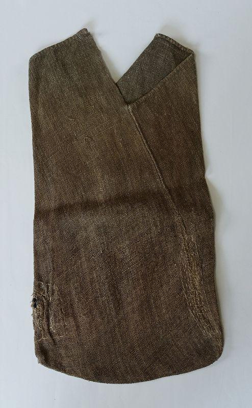 Japanese Antique Textile Mingei Asa Hemp Tsuno-bukuro