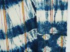 Japanese Vintage Textile Cotton Futonji with Shibori Tie-dye