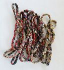 Japanese Vintage Textile Boro Rope Recycled from Old Cotton Cloth-1