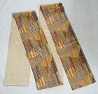 Japanese Vintage Textile Yose-gire Obi Sash Made of Brocade Fragments