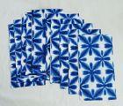 Japanese Vintage Textile Sekka Shibori Cotton Cloth Indigo
