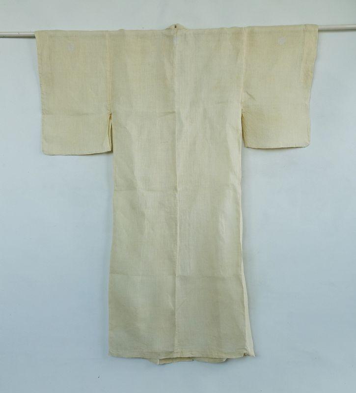 Japanese Vintage Textile Asa Kimono Bast Fiber
