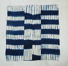 Japanese Vintage Textile Furoshiki  Made of Cotton Shibori Cloth