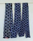 Japanese Vintage Textile Cotton Arimatsu Shibori Roll of Cloth