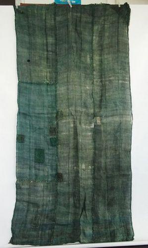 Japanese Antique Textile Boro Hemp Kaya Cloth Mosquito Net