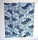 Japanese Vintage Textile Cotton Shibori Futon Cover