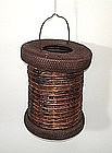 Japanese Antique Folk Craft Portable Lantern