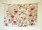 Japanese Antique Textile Asa Jofu Cloth Edo