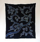 Japanese Antique Mingei Textile Tsutsugaki Furoshiki