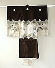 Japanese Vintage Textile Cotton Boy's Festive Kimono
