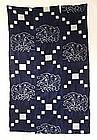 Japanese Antique Textile Kasuri Futon Cover Butterfly