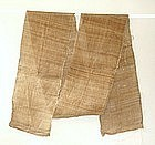 Japanese Antique Textile Piece of Bast-Fiber Hemp