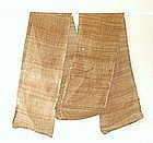 Japanese Antique Textile cCloth Of Hemp Bast Fiber-2