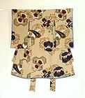 Japanese Vintage Textile Silk Crepe Boy's Kimono