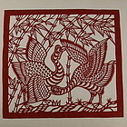 Chinese Folk Art Paper Cut Album, Circa 1956