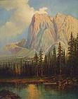 California Oil Yosemite by Maxine Charles Guirard 1933