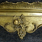 Gold Gilt  Wood Valances Cornices, 19th C