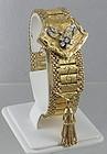 Rare 14K Gold and Diamond Ladies Flip Dress Watch