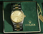18K Gold Gent's Rolex Oyster Perpetual Watch