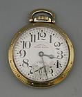 American Hamilton 950B Conductor Railroad Pocket Watch